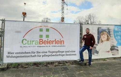 Baustellenupgrade durch CuraBeierlein
